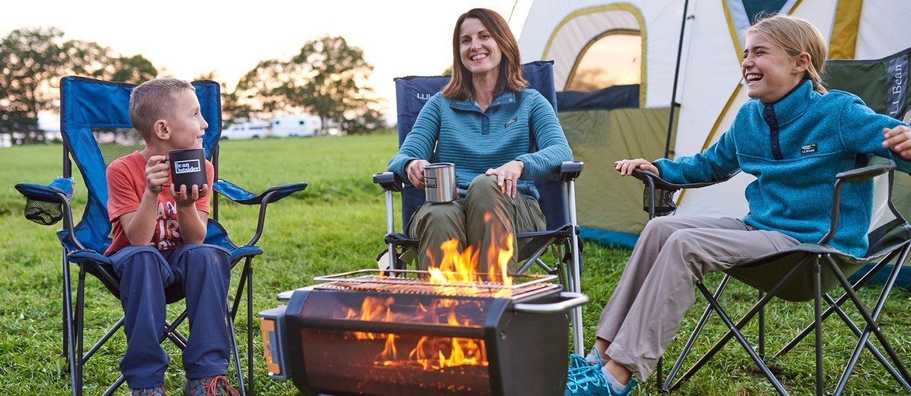 family camping