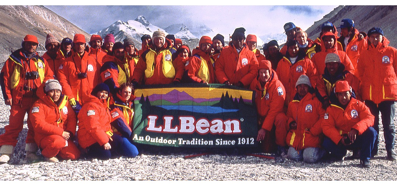 Memers of the Summit for Peace, Mount Everest, 1990