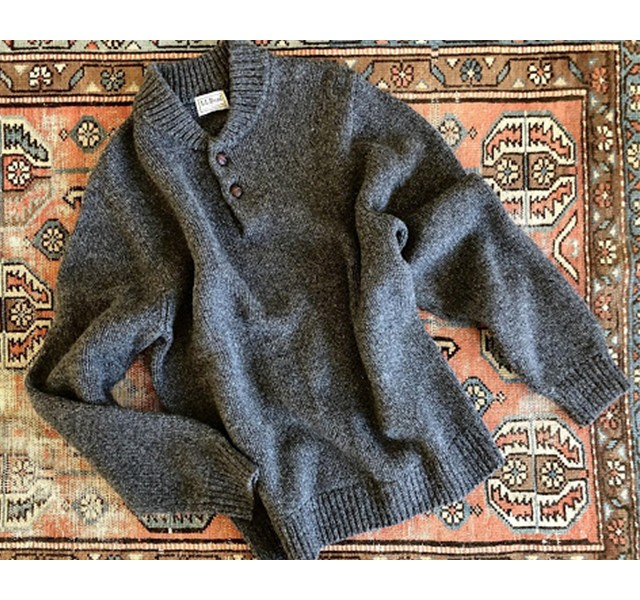 L.L.Bean Classic Ragg Wool Sweater