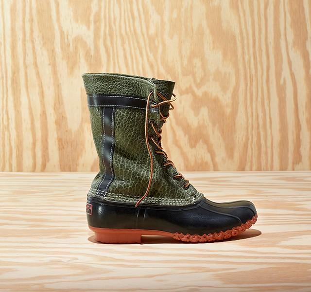 The L.L.Bean x Todd Snyder Bean Boots in Bison Leather were released in October 2020 as part of a limited-edition collaboration with the menswear designer.