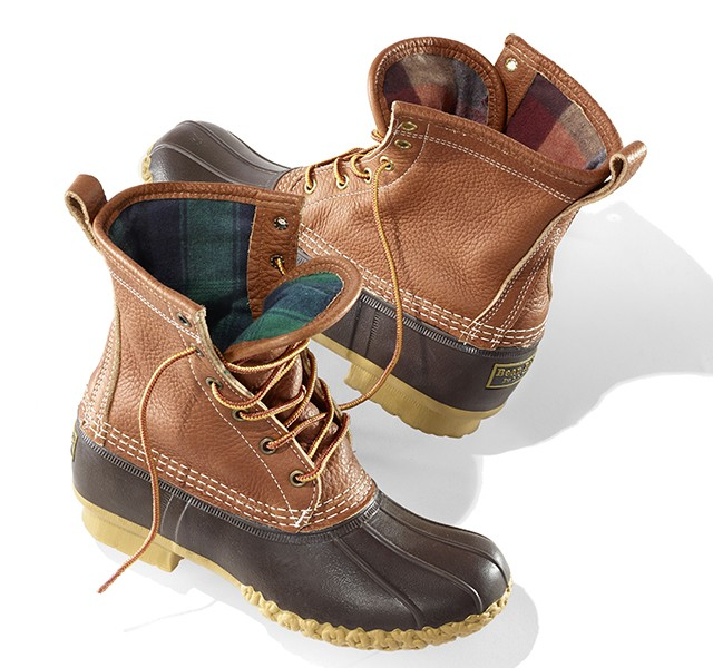 Chamois Lined Bean Boot