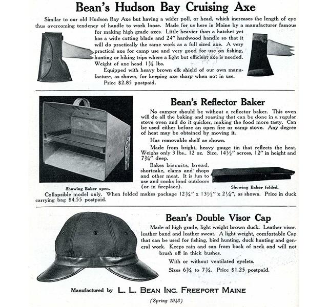 Hudson Bay Axe, circa 1943