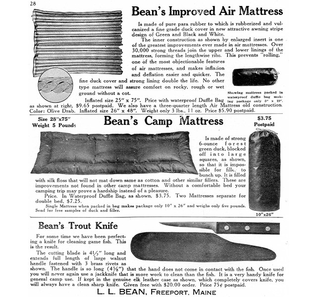 L.L.Bean Trout Knife, circa 1934