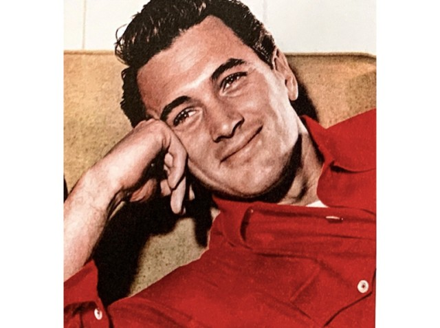 Rock Hudson in L.L.Bean Chamois Shirt in 1955