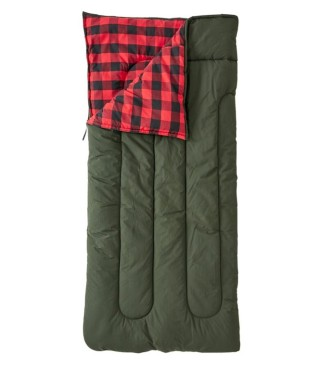 Flannel-Lined Camp Bags