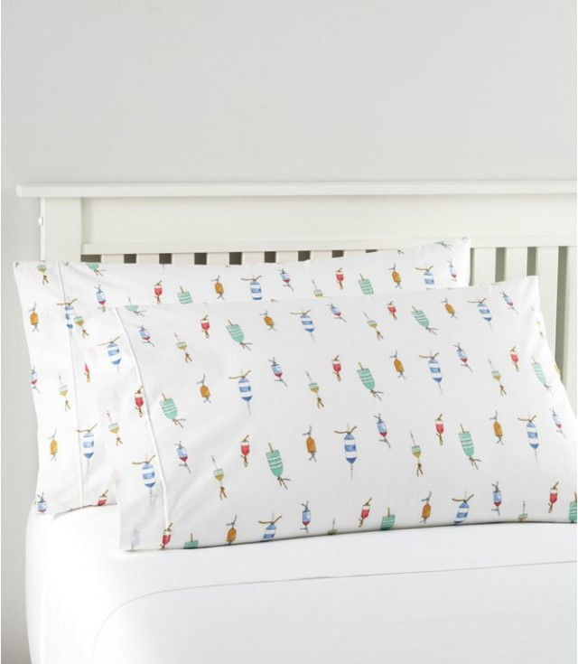 Sara Fitz Buoy Percale Sheet Set