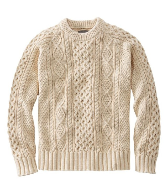 Men's Signature Cotton Fisherman's Sweater
