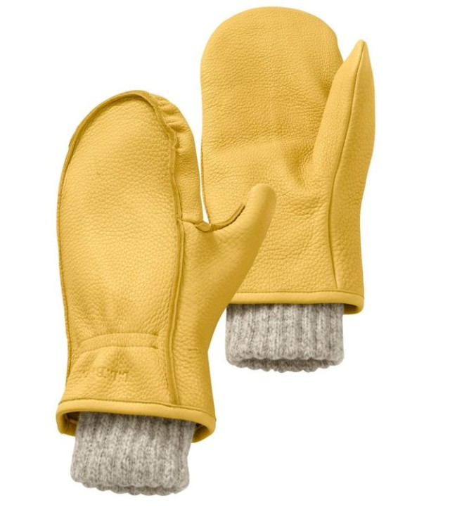 L.L.Bean Buckskin Chopper Mitts