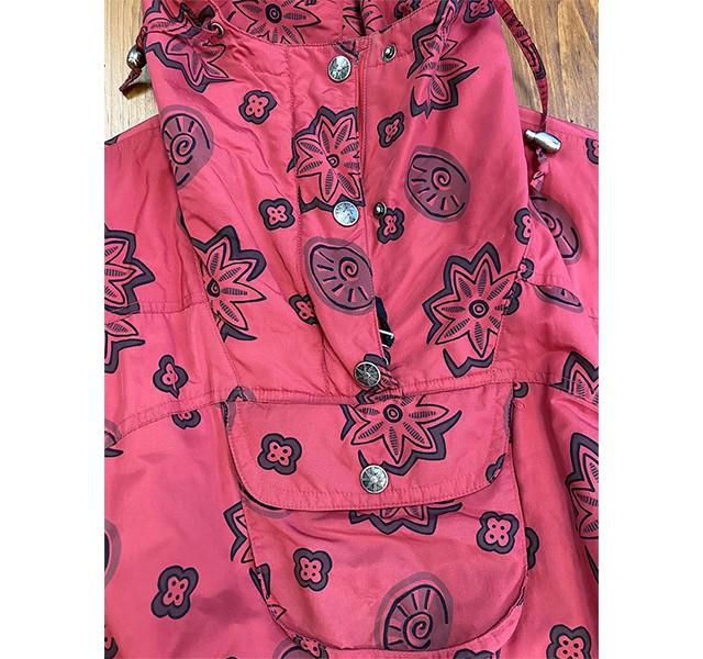 1980s-1990s L.L.Bean Women's Printed Anorak