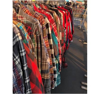 Vintage Clothes at a Flea Market