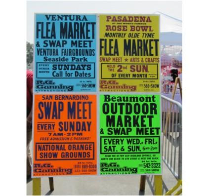 Flea Market Fliers